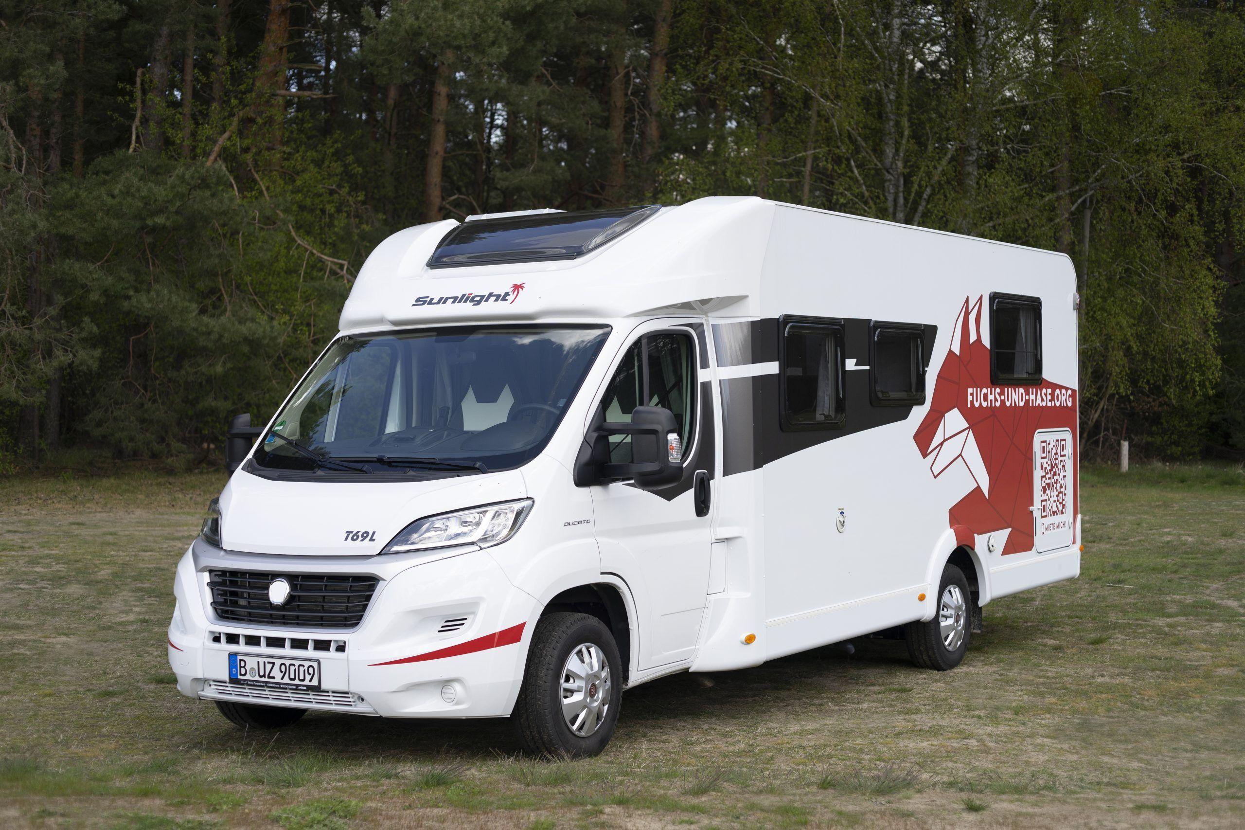 Kapfuchs Wohnmobil T69L von Sunlight